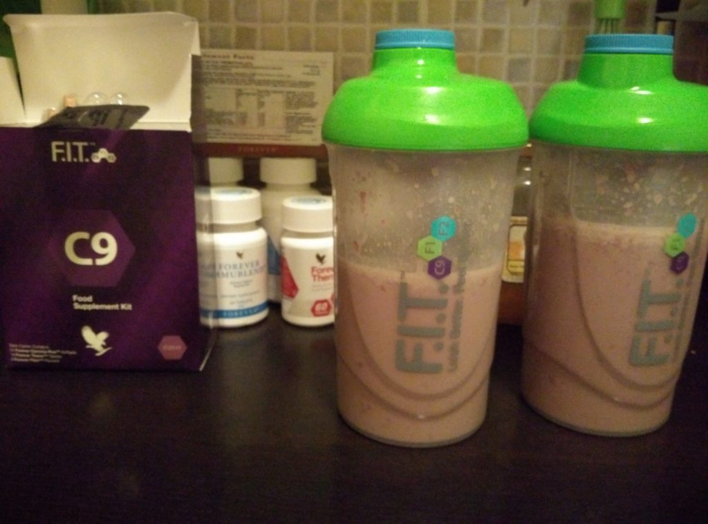 Forever C9 - Clean 9 program - 4. nap Forever Lite Ultra shake