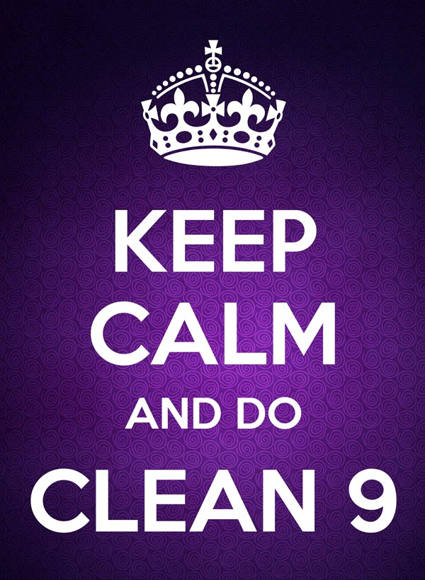 Forever C9 - Keep Calm and do Clean 9 program