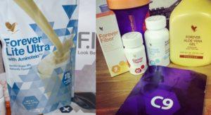 Forever C9 - Clean 9 program - csomag tartalma