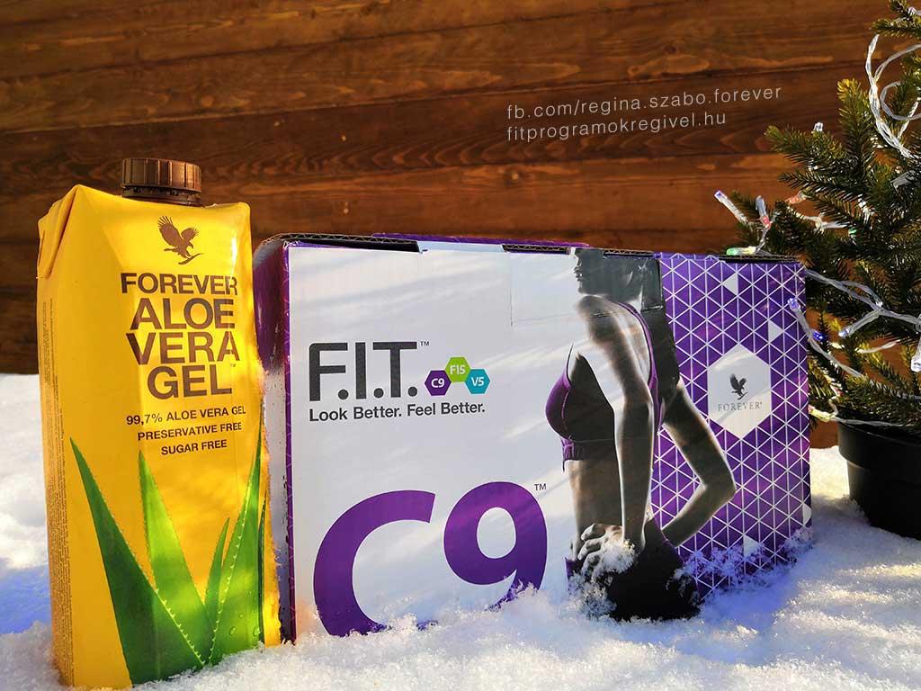 Forever C9 csomag tartalma - Clean 9 program