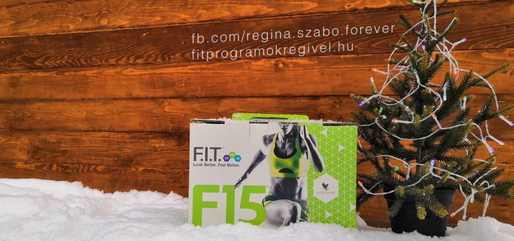 Forever F15 program karácsonyi doboz