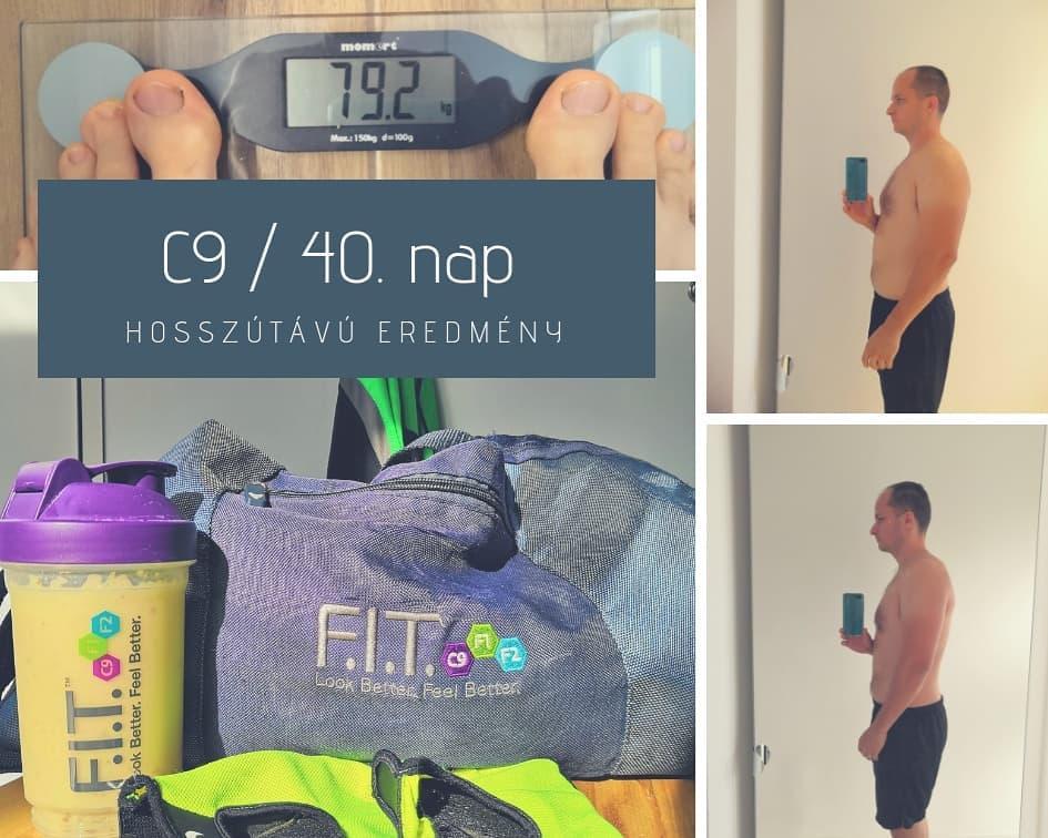 forever c9 program hosszútávú eredmények tartós fogyás jobb közérzet fit életmód