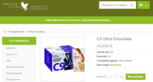 flpshop c9 program c9 ultra chocolate csomag screenshot