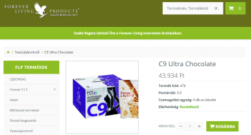flpshop c9 program c9 ultra chocolate csomag screenshot