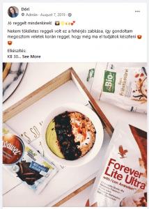 forever c9 recept - fit zabkása