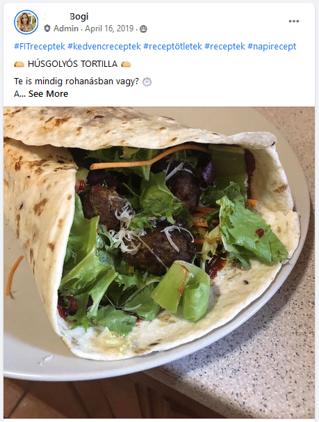 forever c9 recept húsgolyós tortilla
