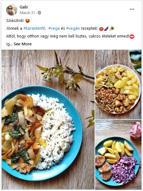 forever c9 receptek - vega/vegán karanténfit
