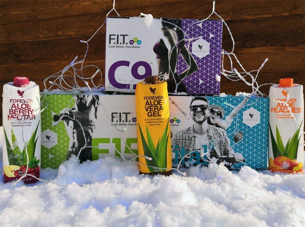 Forever C9, F15, Vital5 karácsonyi csomagok